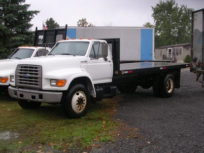 1995 Ford F700 18' Flatbed - $5,995.00